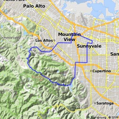 Sunnyvale/Montebello Road loop