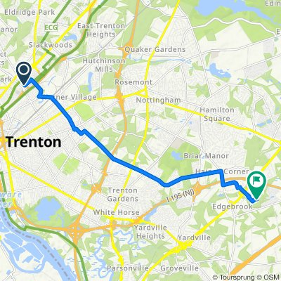 800–898 Burgner Alley, Trenton to 700 Marketplace Blvd, Trenton