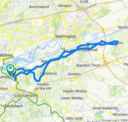72 Boston Ave, Runcorn to 4 Wadham Close, Runcorn