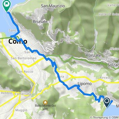 Da Via Gardanesi 216, Cascina Incastro a Viale Geno 12, Como