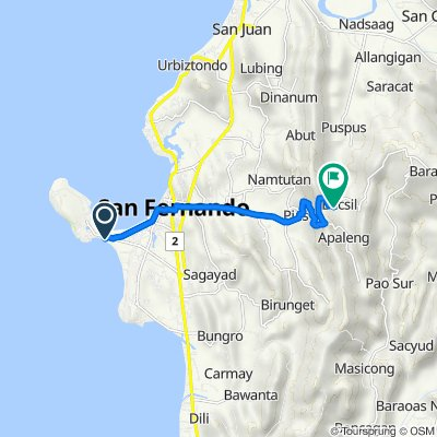 Pennsylvania Avenue, San Fernando to Unnamed Road, San Fernando