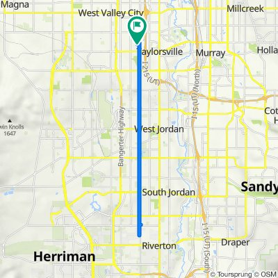 4481 S Hertford Dr, West Valley City to S Parkbury Way, West Valley City