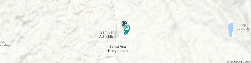 Ruta a Industriales 25, Santa Ana Hueytlalpan