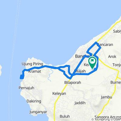 Jalan Griya Utama d-25, Kecamatan Burneh to Blok BC, Kecamatan Burneh