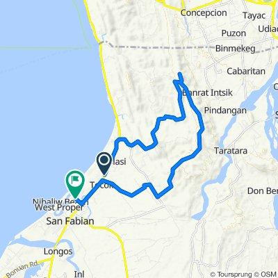 Slow ride in San Fabian
