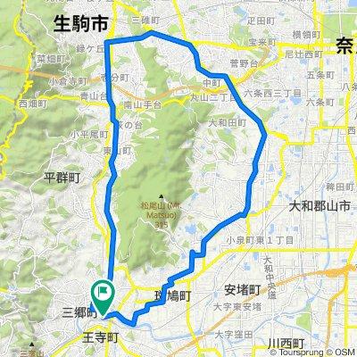 2, Kudo 2-Chōme, Oji, Kitakatsuragi-Gun to 県道156号, Oji, Kitakatsuragi-Gun