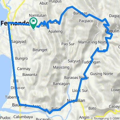 Langcuas - Naguillan - Pias Loop
