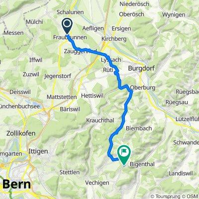 Tafelenfeldweg 5, Fraubrunnen nach Aetzrütti 244H, Utzigen