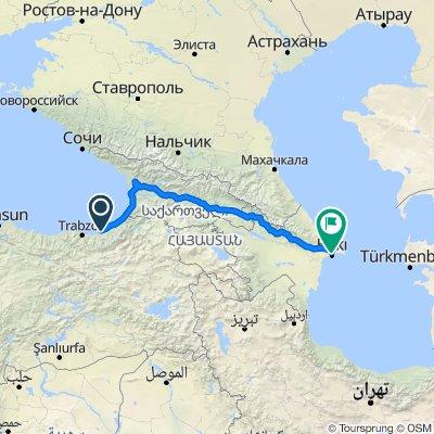 Rize - Bakou