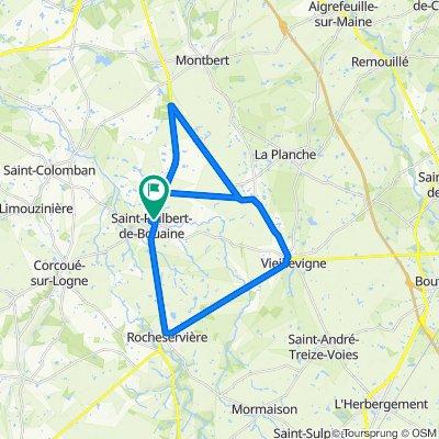 De Allée du Rayon d'Or 2, Saint-Philbert-de-Bouaine à Allée du Rayon d'Or 4, Saint-Philbert-de-Bouaine