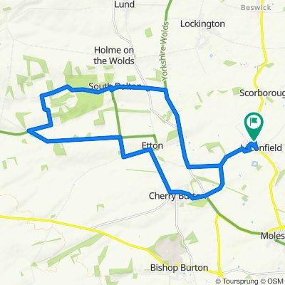 13 miles- cherry etton south dalton