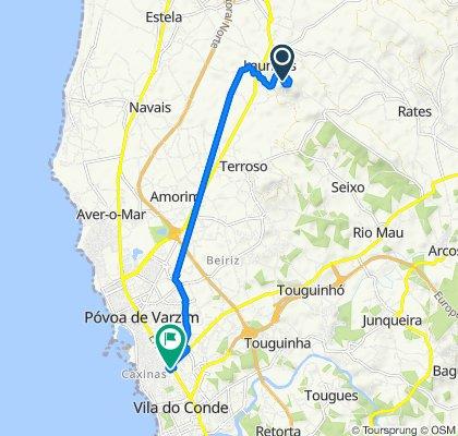 De Rua dos Moleiros 84, Laundos a Rua 5 de Outubro 1847, Vila do Conde