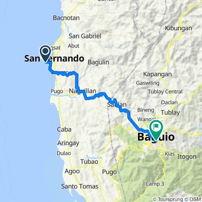 Pennsylvania Avenue, San Fernando to Kennon Road, Baguio