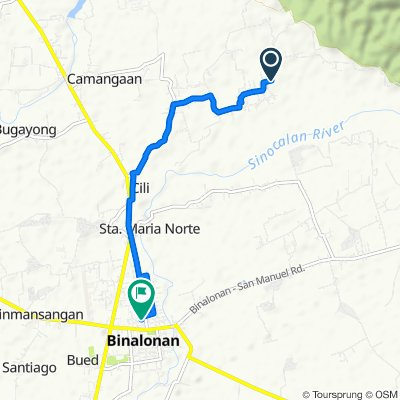 Unnamed Road, Binalonan to Philippines, Binalonan