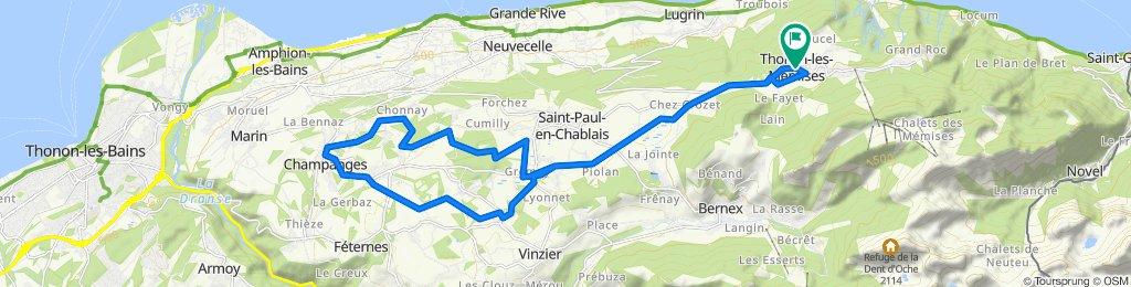 Tour du Gavot