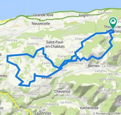 Tour du Gavot et Col de Creusaz