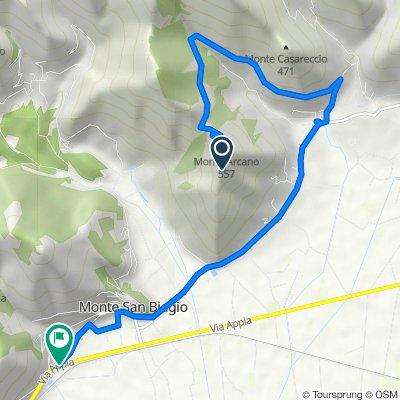 Da Via Madonna della Rocca, Fondi a Via Portella Inferiore 2, Monte San Biagio