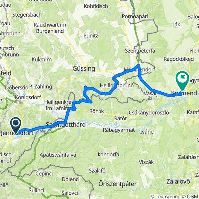 Élmény a határok mentén, kerékpárral - Grenzerfahrung