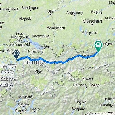 Richterswil - Zillertal