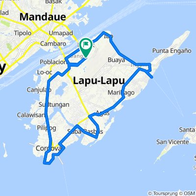 Basa Road, Lapu-Lapu City to Basa Road, Lapu-Lapu City