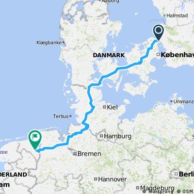 0010Mariehamn - Santiago de Compostela Part 2: Denmark - Germany