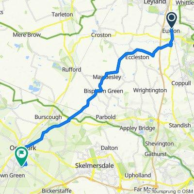 Village Croft 21, Euxton to Scarth Hill Lane 42, Aughton