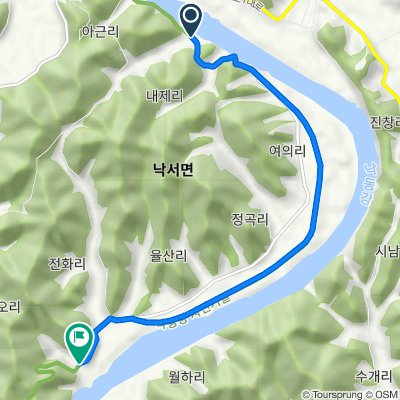Nakseo-myeon 311-4, Euiryeong to Nakseo-myeon 1238-1, Euiryeong