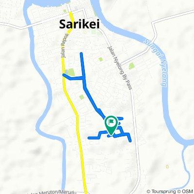 Jalan Bawal Lorong 2, Sarikei to Lorong Bawal 1, Sarikei