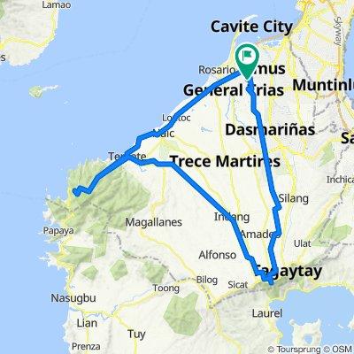 Route to Advincula Avenue, Imus City