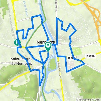 Nemours - 11.3km 60D+