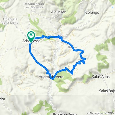 Treviño's gravel route. Sierra de Guara