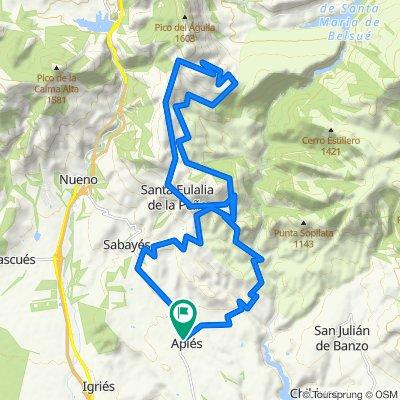 The Whole Salto Roldan MTB. Sierra de Guara