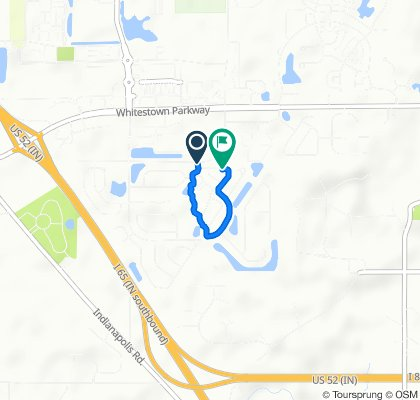 6833 E 650 S, Zionsville to 6515 Kingsbury Way, Zionsville