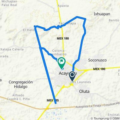 Ruta a Ramón Corona 718, Acayucan