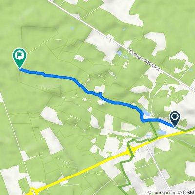 Itinéraire à partir de 1662–1956 Allée d'Ardy, Saint-Paul-lès-Dax