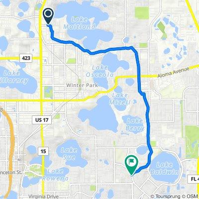 1330 Magnolia Bay Ct, Maitland to 2025 Common Way Rd, Orlando