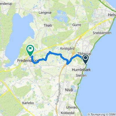 Gammel Strandvej, Humlebæk to Toftevej 19, Fredensborg