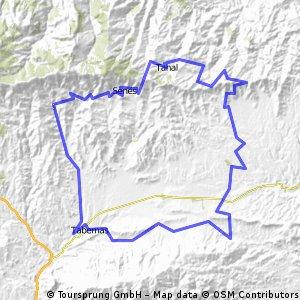 Ruta de cicloturismo Filabres-Alhamilla