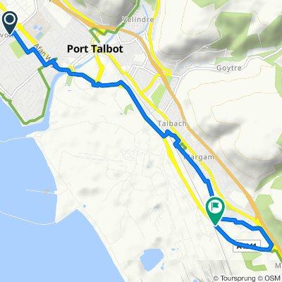 7 Dalton Road, Port Talbot to Harbour Way, Port Talbot
