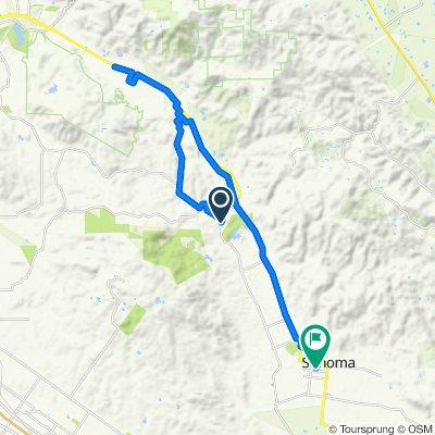 13751 Arnold Dr, Glen Ellen to 650 Fourth St W, Sonoma