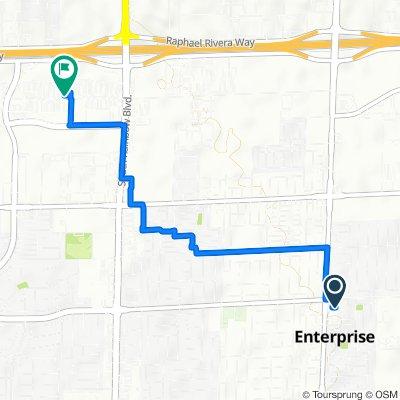 7720 S Jones Blvd, Las Vegas to 7200 Arroyo Crossing Pkwy, Las Vegas