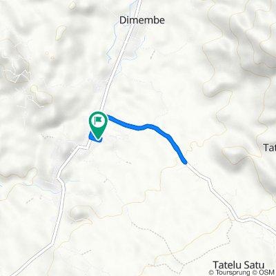Jalan Manado-Likupang, Dimembe to Jalan Manado-Likupang, Dimembe