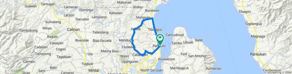... to Unnamed Road, Davao City