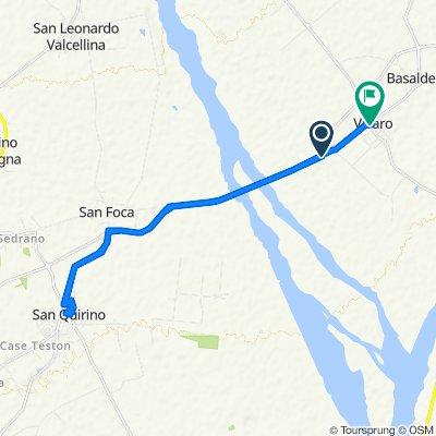 Da SP53, San Quirino a Via Cellina 6, Vivaro