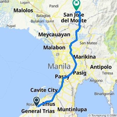 Road 1, Rosario to Unnamed Road, San Jose del Monte City
