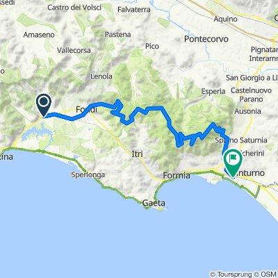 Da Monte San Biagio - Terracina Mare a Via Cistrelli 45, Minturno