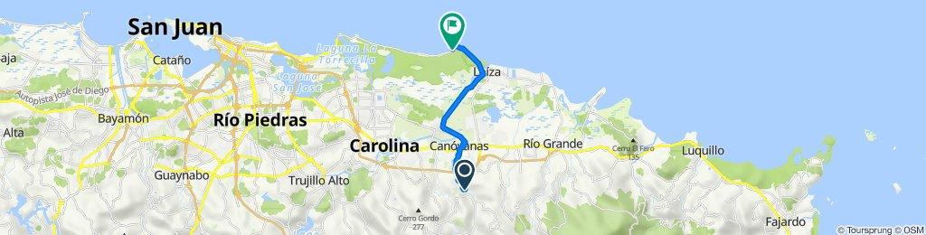 15100–15192 Calle Camino Real, Canóvanas to PR-187, Loíza