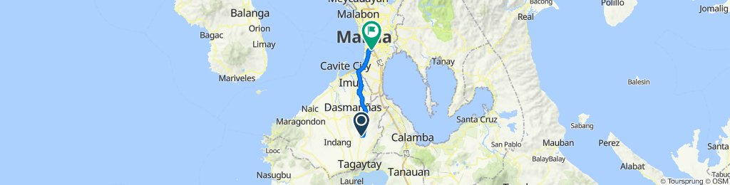 East Gonzales 193, Silang to Philippines, Makati