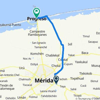 Merida - Progreso