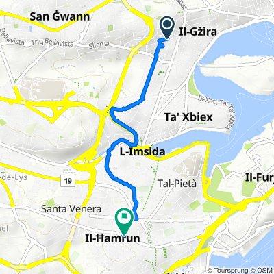Triq San Albert, Gzira to Triq il-Kbira San Ġużepp, Hamrun